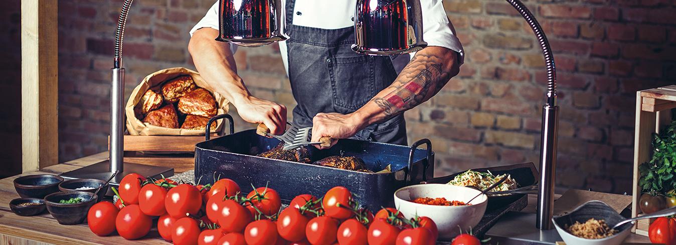 Titelbild BOLLES KÖCHE - Foto vom Catering: Pulled Pork