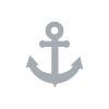 Icon - Yacht Aida - Anker, grau