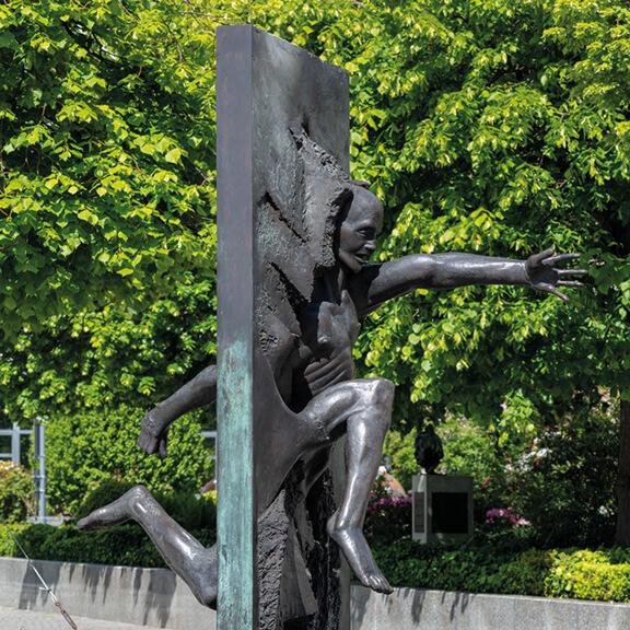 """Denkmal """"Wir sind das Volk"""" - Straße der Erinnerungen"""